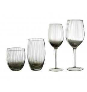 bc1a45331ed0 Σετ 24 φυσητά ποτήρια Home Fasion illusion Grey